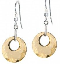 Life Earrings - Golden Yellow - Crystal Pulse Store