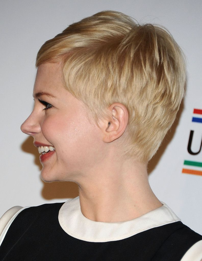2014 Michelle Williams Short Hair Styles: Pixie Haircut forecast