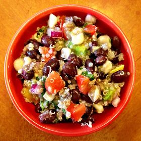 Becoming Betty: Black Bean Quinoa Salad