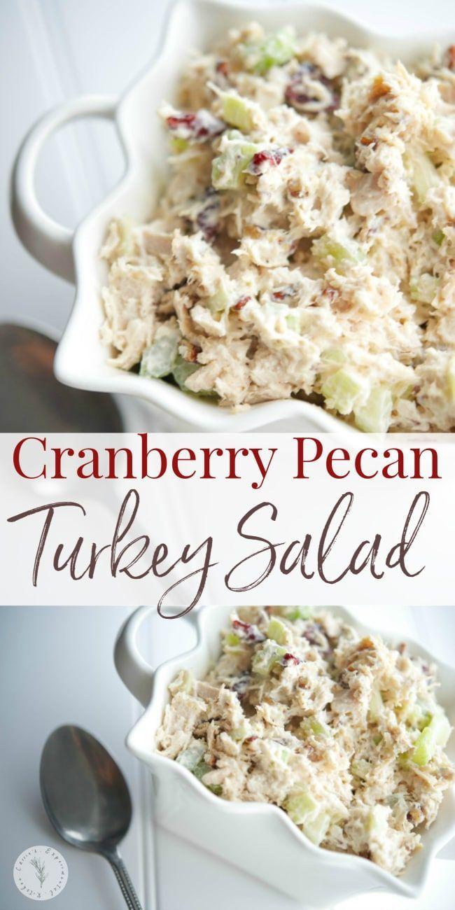 Cranberry Pecan Turkey Salad   Carrie's Experimental Kitchen