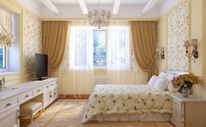 Картинки по запросу спальня шторы