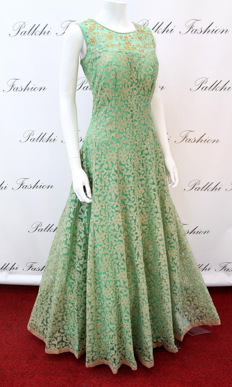 58ad1d8fef7d Designer Anarkali Outfit   Gown