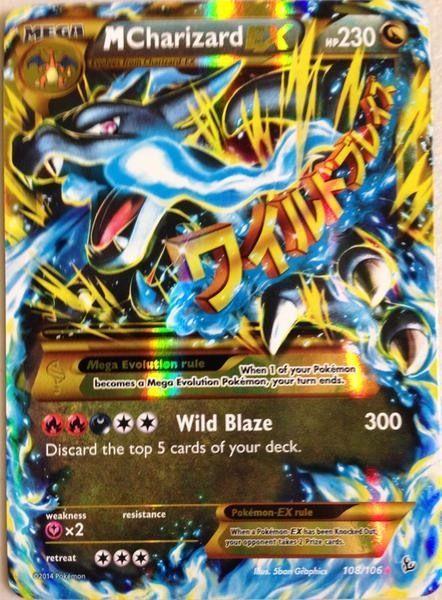 Pokemon Tcg Xy Flashfire M Mega Charizard Ex 108 106 Cool Pokemon Cards Rare Pokemon Cards Pokemon Tcg Cards