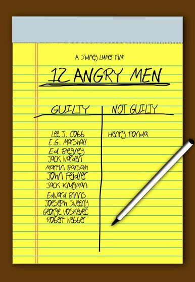 persuasive essay    angry men