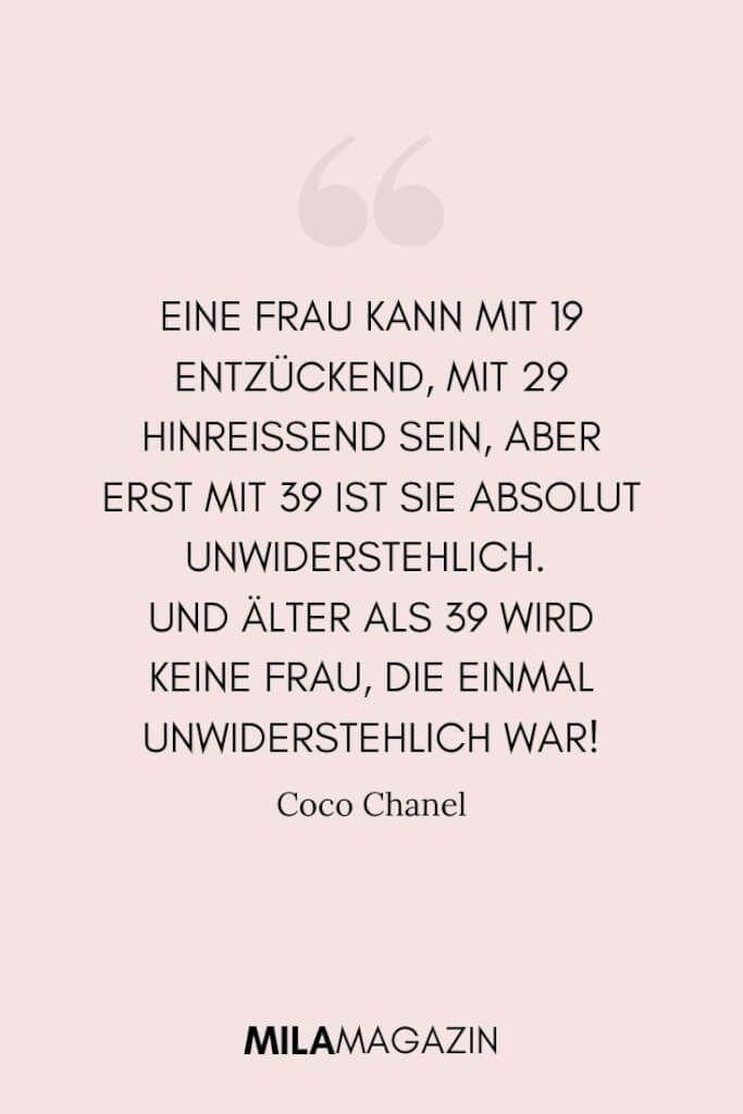 21 Coco Chanel Zitate, die jede Frau kennen muss!