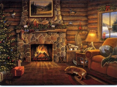 Prime Christmas Fireplace Decoration Fireplace Decorating 3D Download Free Architecture Designs Lukepmadebymaigaardcom
