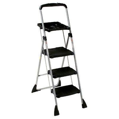 Cosco Three Step Max Steel Work Platform Target Ladder