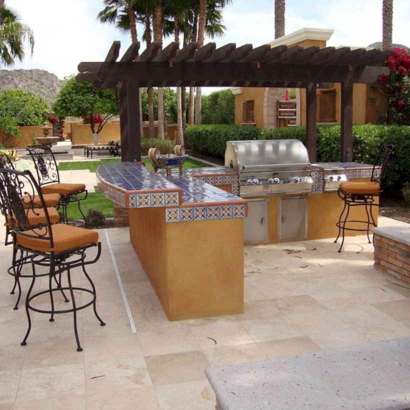 Incredible Kitchen Remodeling Ideas: Fine 36 Incredible Outdoor Kitchen Design Ideas