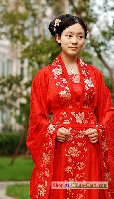 Old Timey Dress From China