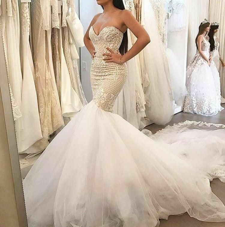 Real Brides Fit And Flare: Fit-and-Flare Bridal Dresses From The Darius Collection