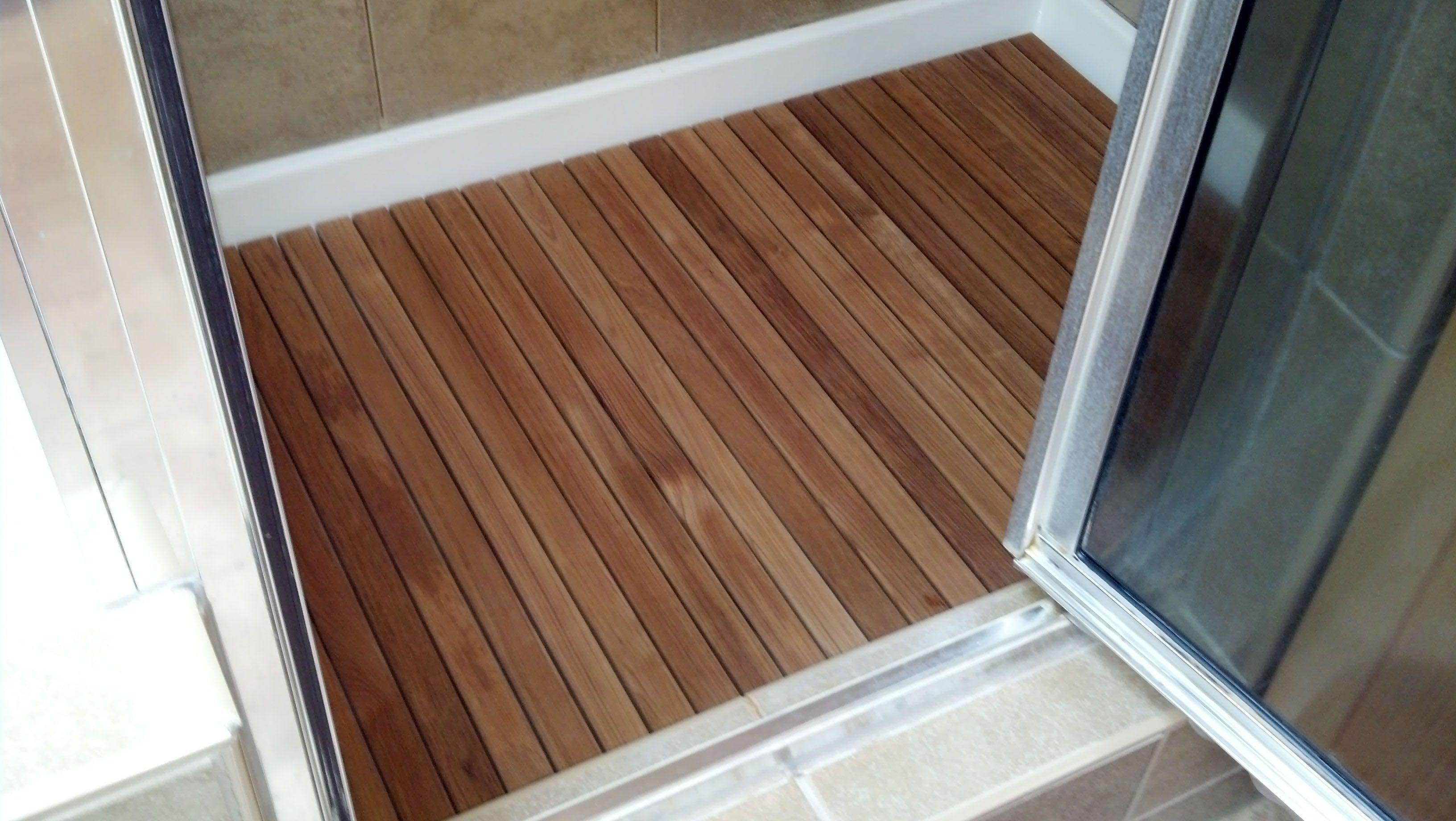 Teak Shower Flooring Google Search Building A Shower Pan Shower Floor Wood Shower Bench