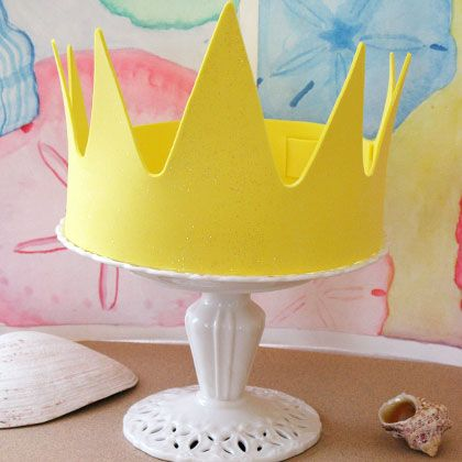 King Triton S Crown Fathers Day Crafts Little Mermaid Crafts