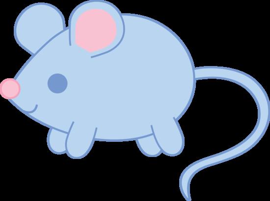 Cute Blue Mouse Cute Animal Clipart Free Clip Art Animal Clipart