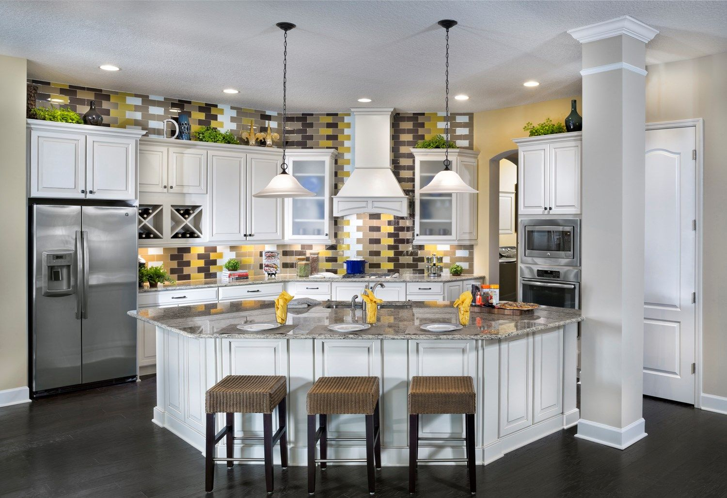 The southfield kitchen home kitchens home beautiful