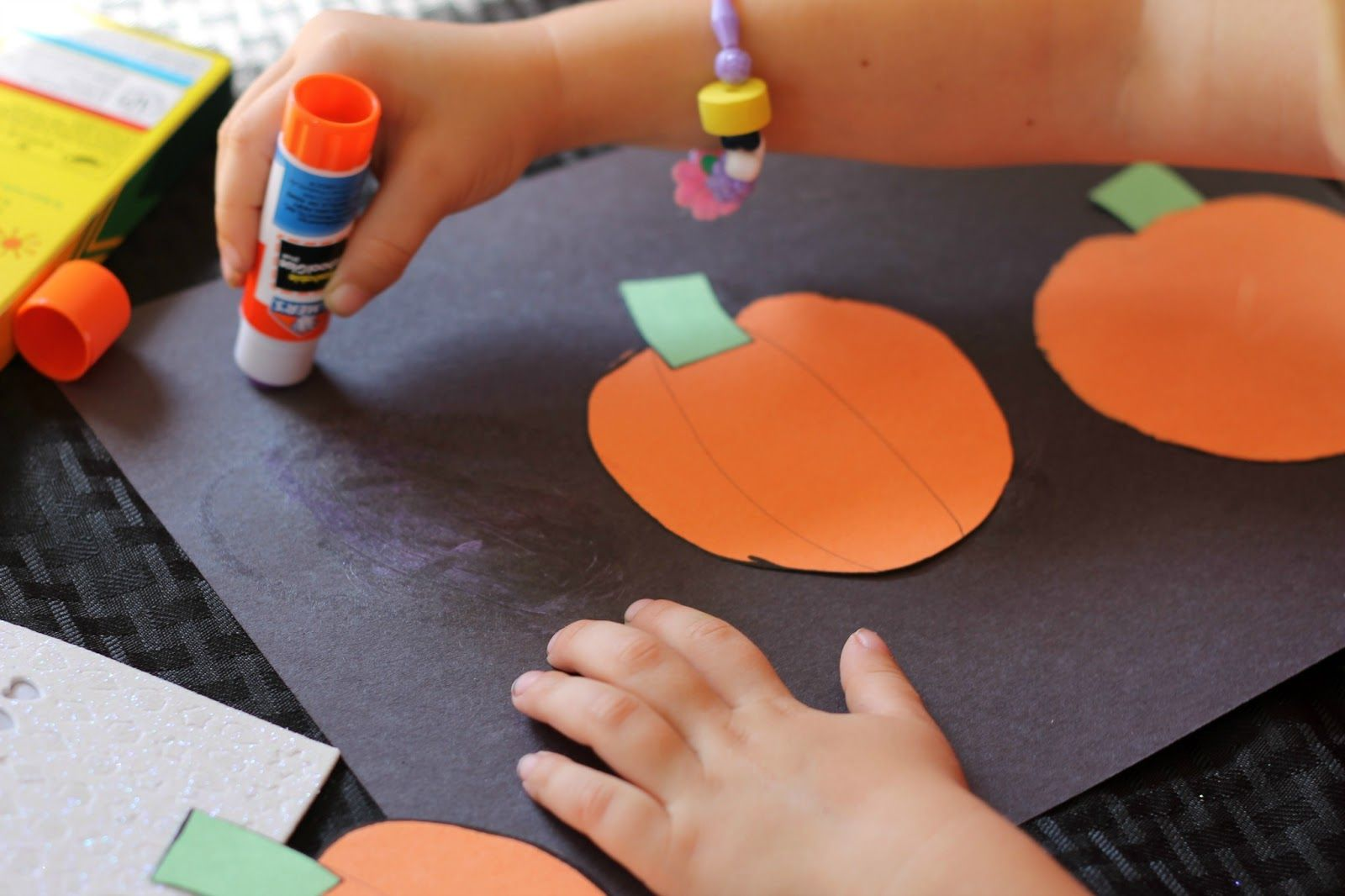 Jack O Lantern Collages Preschool Craft With Images