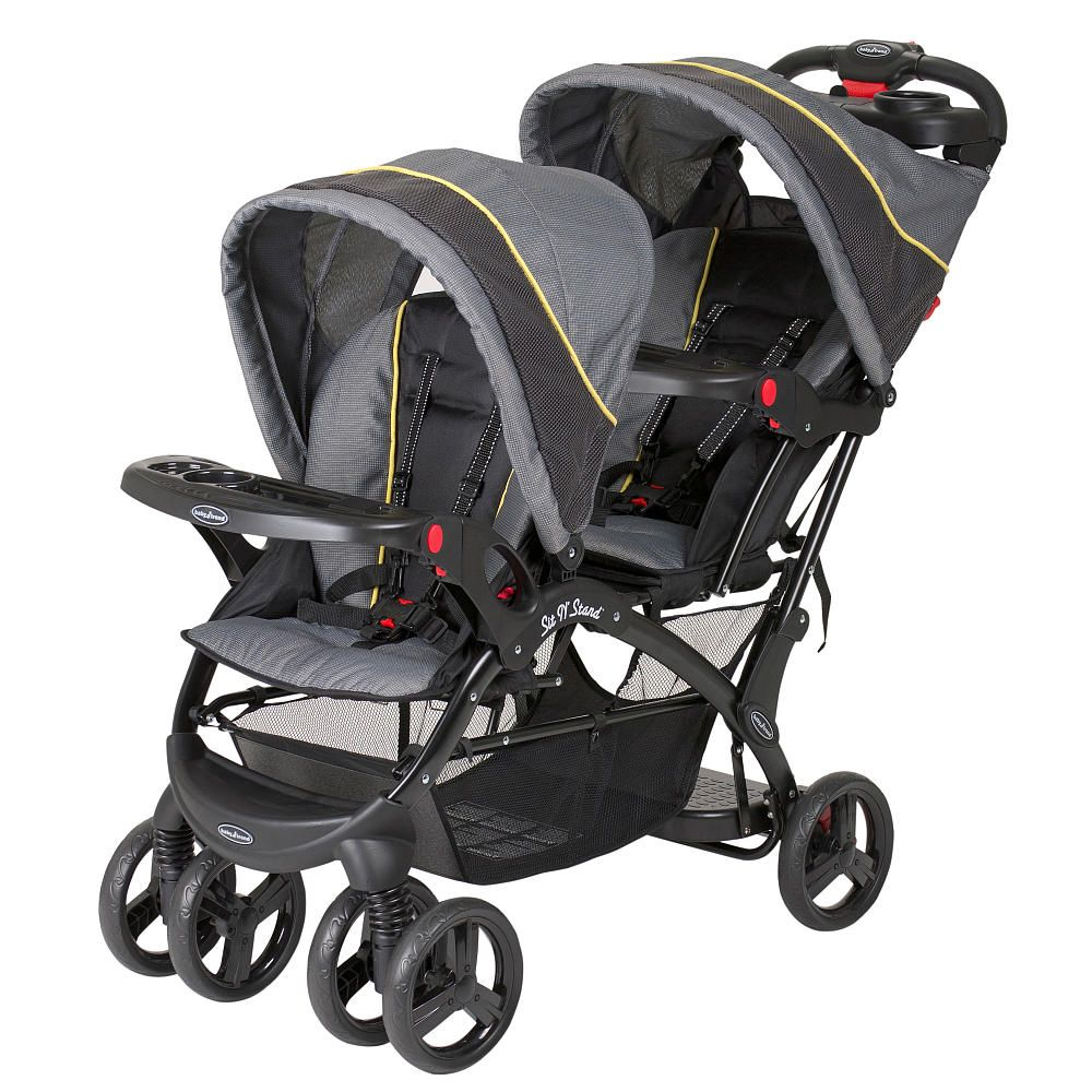 Baby Trend Eclipse Sit 'n Stand Double Stroller Spark