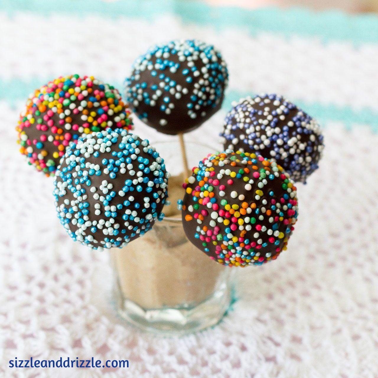 Festive funfetti cake pops funfetti cake pops funfetti