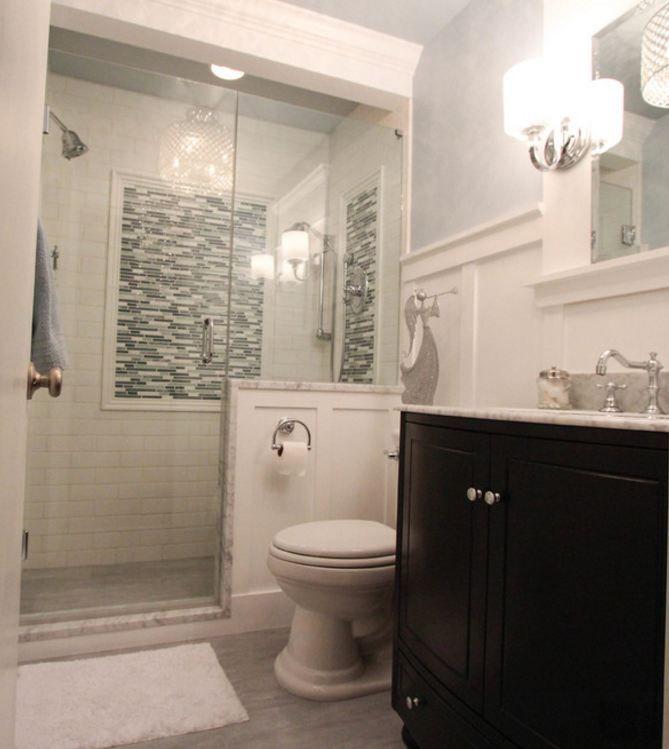 Bliss Iceland Linear Simple Bathroom Remodel Basement Bathroom Remodeling Shower Remodel