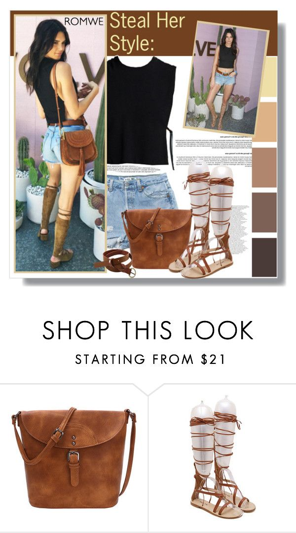 """Steal her style: Kendall Jenner"" by aminkicakloko ❤ liked on Polyvore"