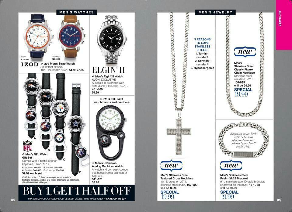 Avon Jewelry Sale Campaign 4 2017 Avon - Jewelry and Fashion - jewelry brochure