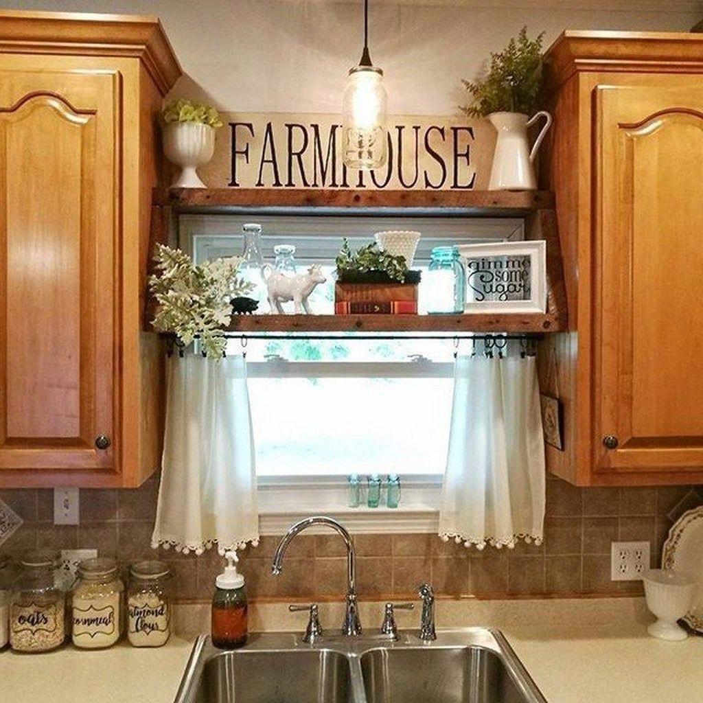 9 DIY Farmhouse Kitchen Cabinets Makeover Ideas   Kitchen diy ...