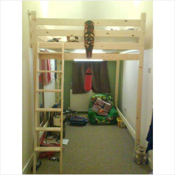 King Size Loft Bed High Sleeper On Ebid United Kingdom Double