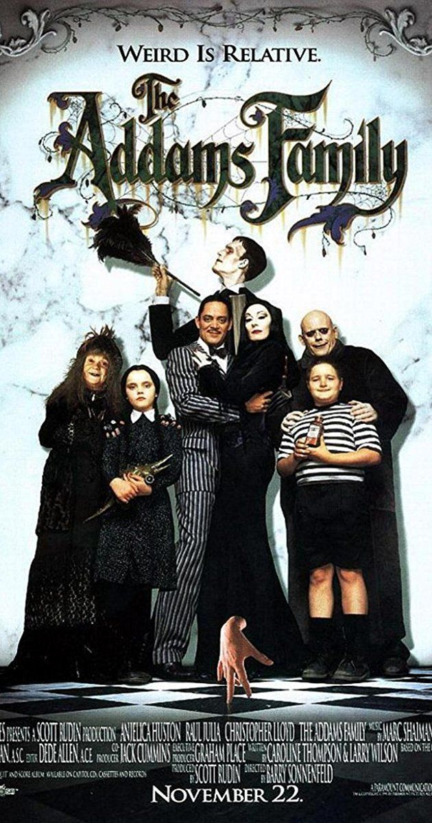 The Addams Family (1991) IMDb Addams family movie