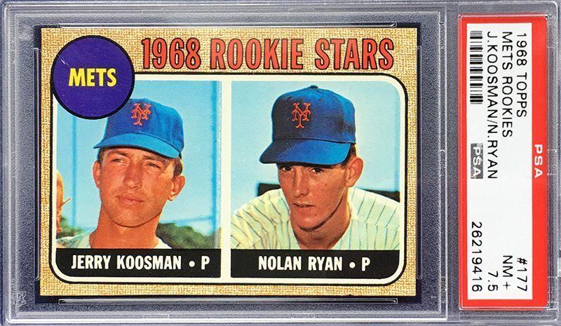 1968 topps 177 nolan ryan rookie psa nm 75 ebay