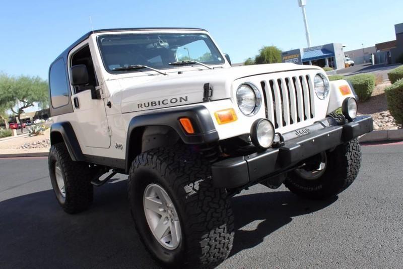 Used 2005 Jeep Wrangler Rubicon