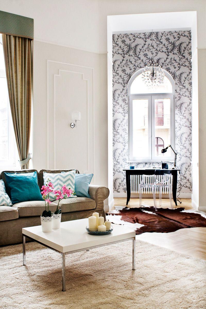 Living room, 85 Király utca, 1/2, Budapest, Hungary. For Sale ...