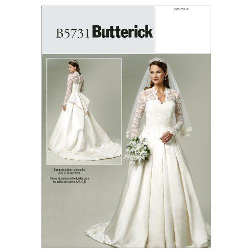 Contemporary Plus Size Wedding Dress Patterns To Sew Illustration ...