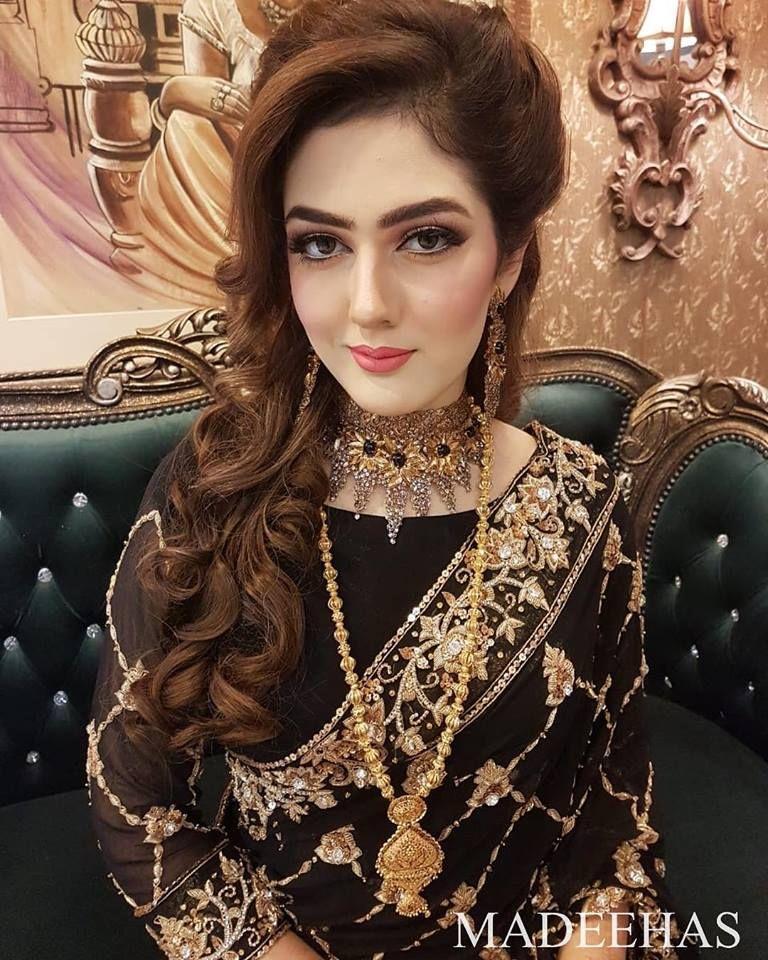 Best Beauty Salon In Lahore Pakistani Bridal Hairstyles Pakistani Bridal Makeup Indian Bridal Hairstyles