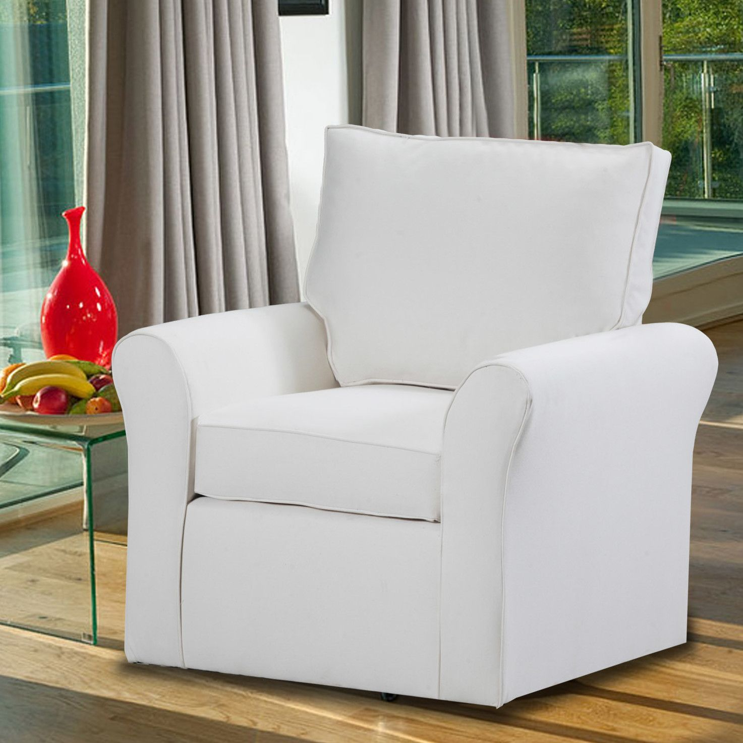 Adelina Swivel Arm Chair. Living Room ...