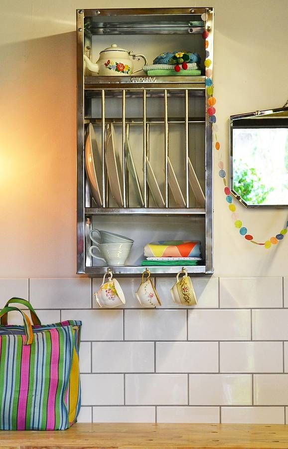 Are you interested in our mini stainless steel plate rack? With our small metal kitchen storage you need look no further. & Mini Stainless Steel Plate Rack | Stainless steel plate Plate racks ...