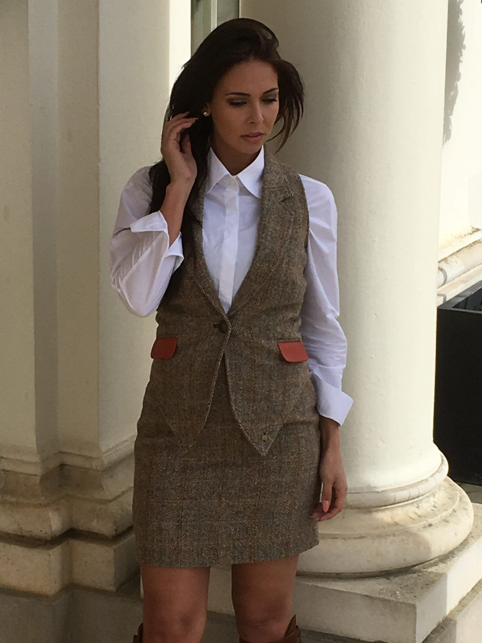 47198b72d27d Image result for harris tweed suit women | Nostalgia