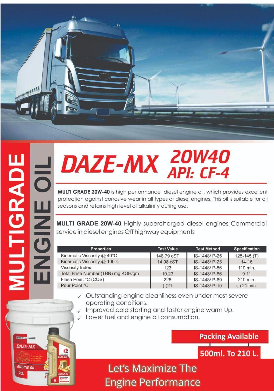 Let S Maximize Your Enzine Performance With Daze Mx Multigrade