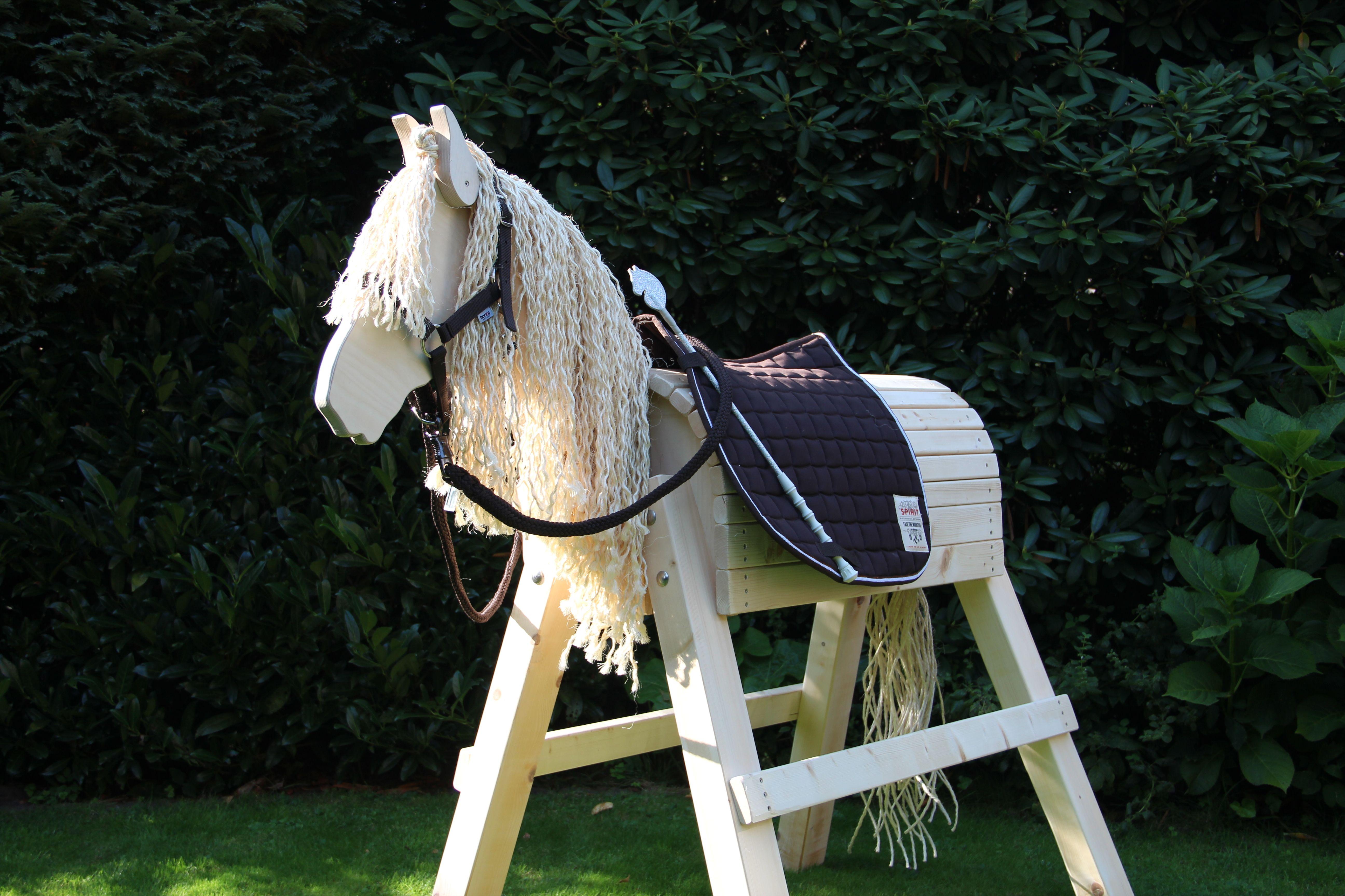 Holzpferd Princess Das Schonste Im Norden Unverkennbar Ihr Blonde Zottelmahne Die In Der Sonne Leuchtet Ihre Zwei Bewe Holzpferd Holzpferd Bausatz Pferd