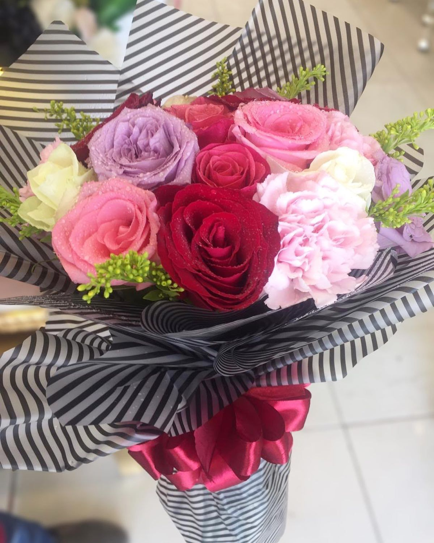 بوكيه هدية ورد هديتي Rose Flowers Plants