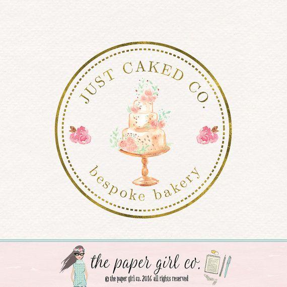 cake baking logo design cake logo, bakery logo, baking logo, bakers logo, premade logo