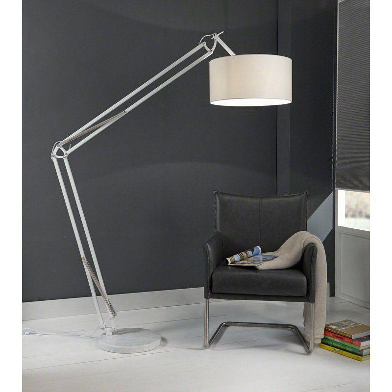 XL vloerlamp Santa Tarano wit