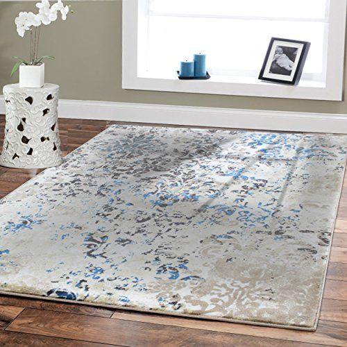 Modern Blue Area Rugs For Living Room Lanzhome Com In 2020 Rugs In Living Room Area Room Rugs 8x10 Area Rugs