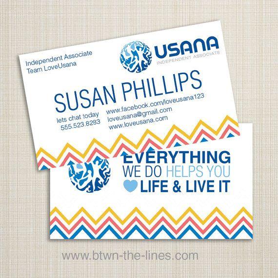 Usana business card chevron it up healthy life direct sales usana business card chevron it up healthy life direct sales business card colourmoves