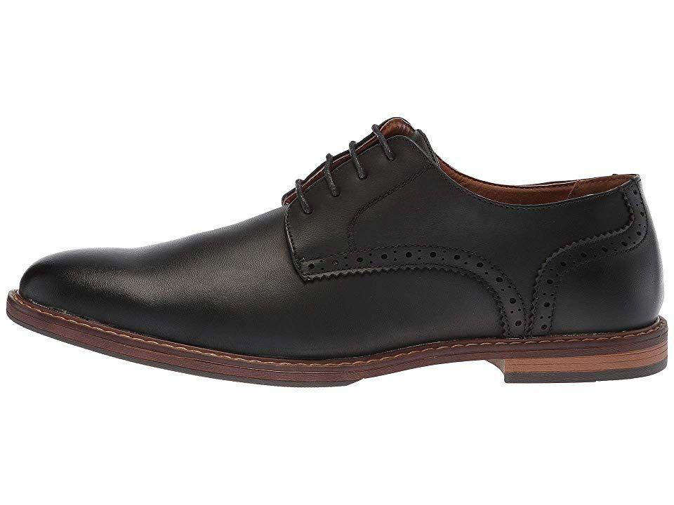 ff33602687 Nunn Bush Palmer Plain Toe Oxford Men s Shoes Black