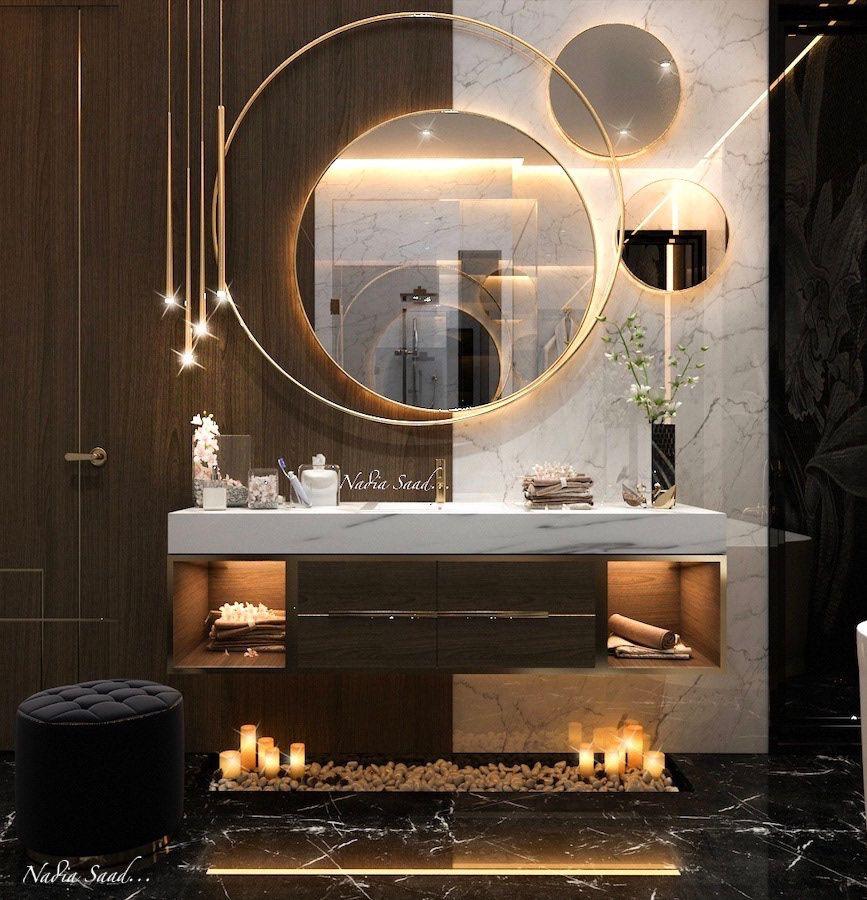 Photo of Master bathroom design in kSA (private villa)