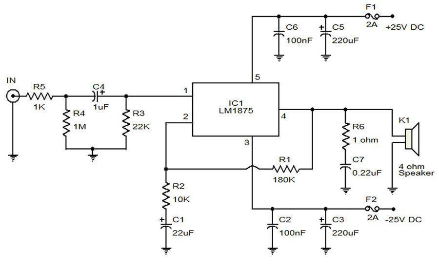 audio amplifier circuit Page 16 : Audio Circuits :: Next gr