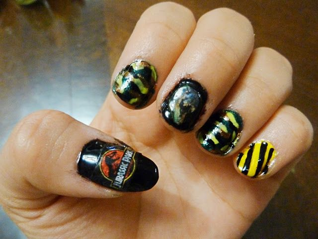 Heavenly Mess: Jurassic Park & Jurassic World Nails | Beauty & nails ...