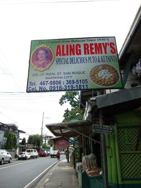 Marikina Food Trip: ALING REMY'S SPECIAL DELICIOUS PUTO AND