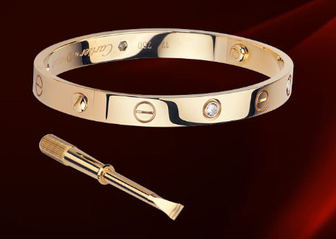 vendita calda online 535e0 be450 Cartier Love Bracciale | Cartier | Jewelry, Cartier love ...