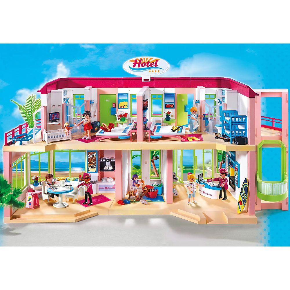 playmobil summer fun duży dom wypoczynkowy z wyposażeniem, hotel, Wohnzimmer dekoo