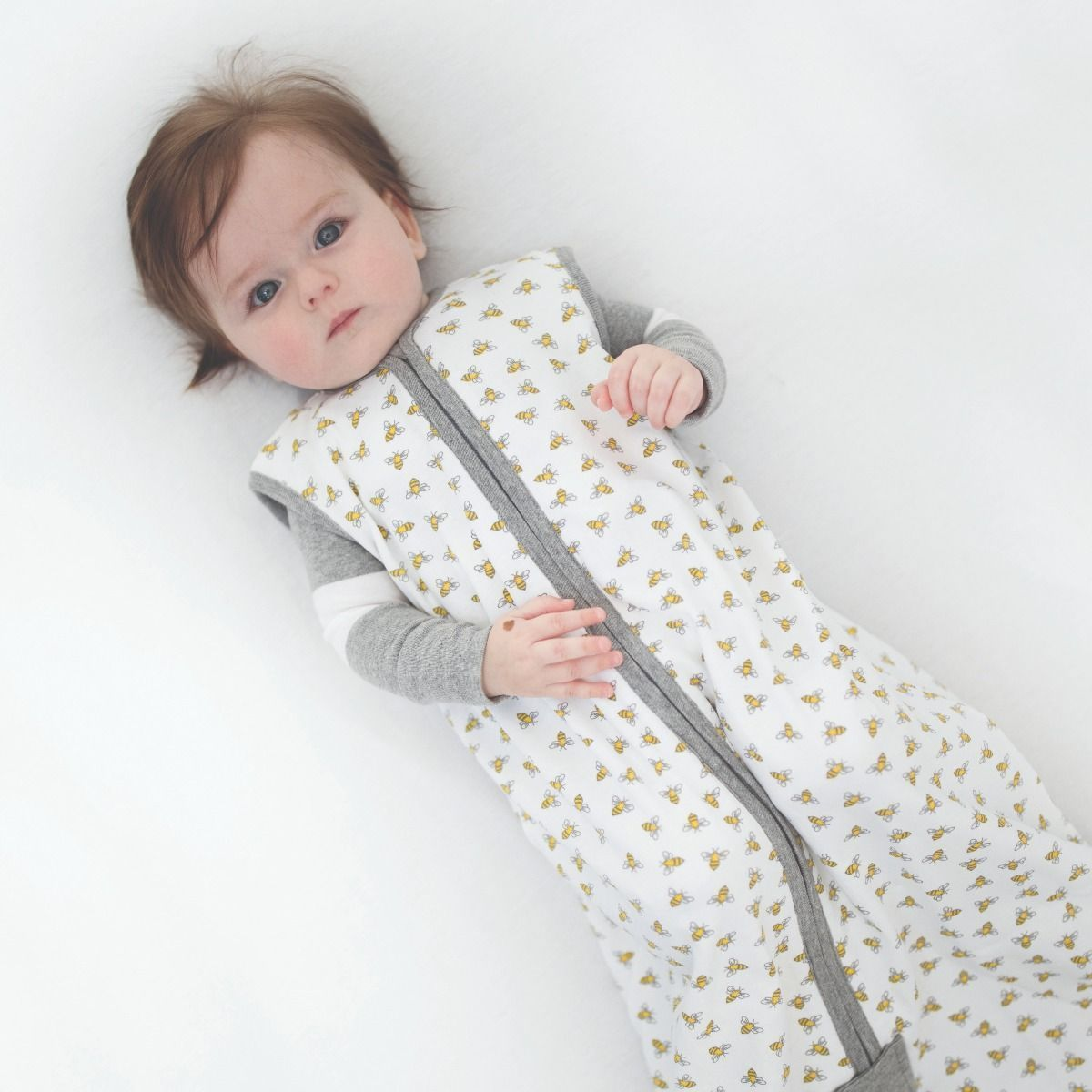 ef0e2aab0f7 Beekeeper™ Honey Bee Organic Baby Wearable Blanket